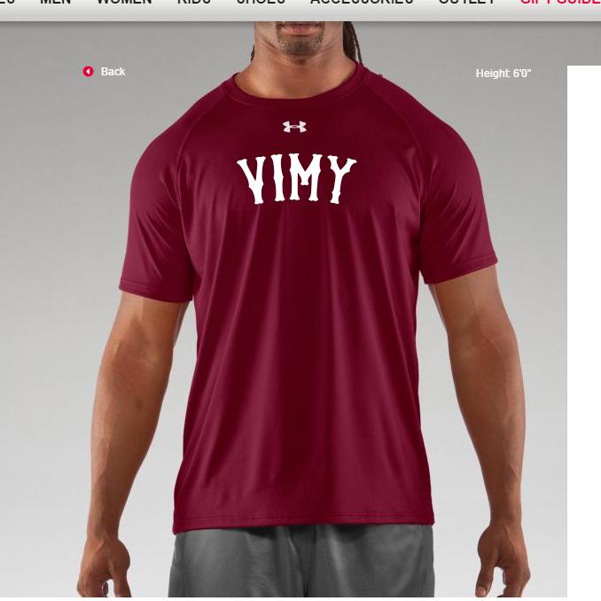 Vimy_shirt_design